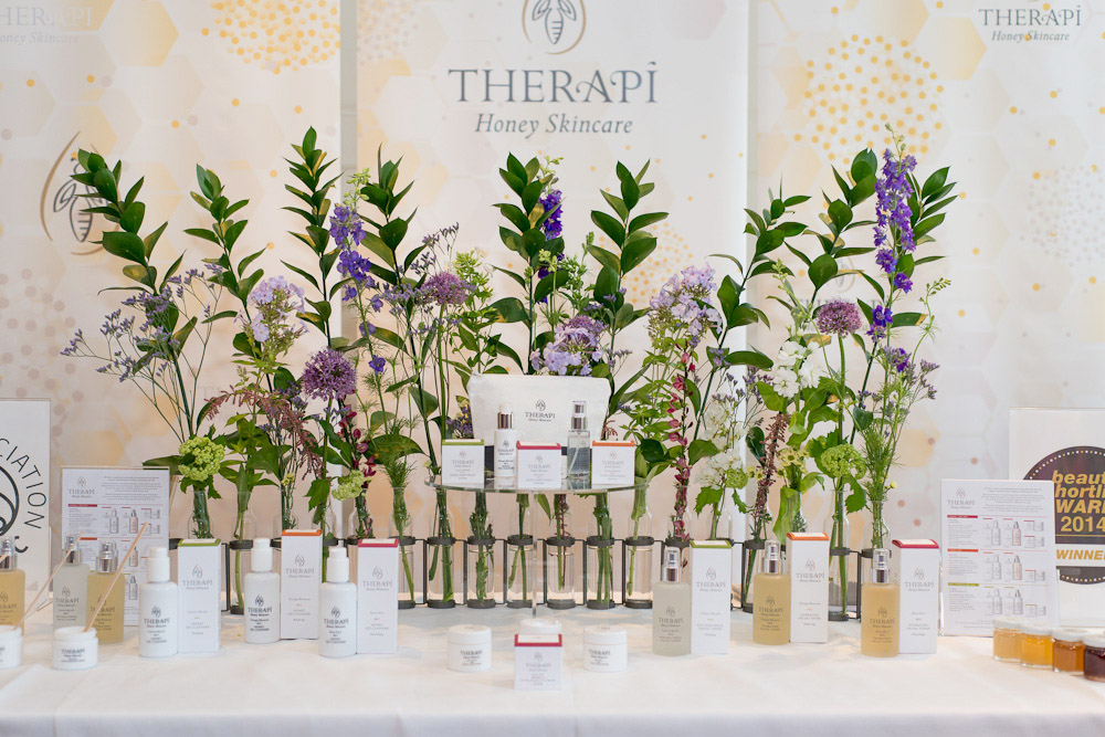 Therapi Honey Skincare PR event